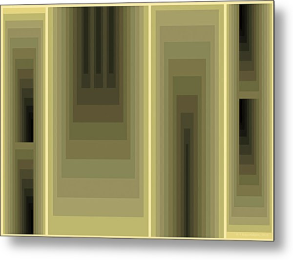 Composition 80 Metal Print
