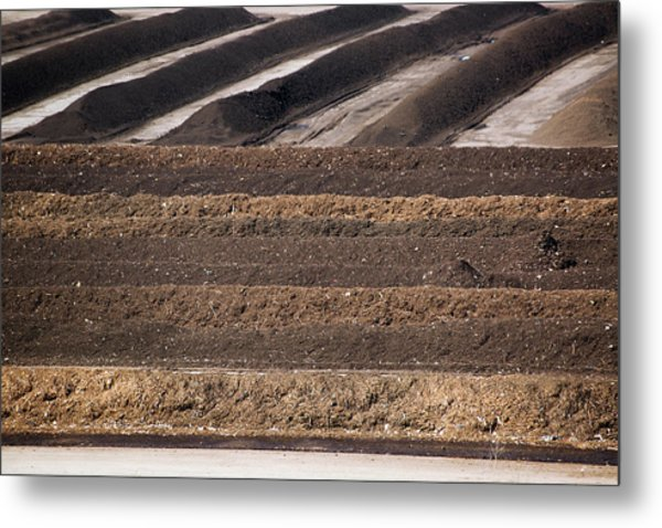 Compost Produced From Food Waste Metal Print