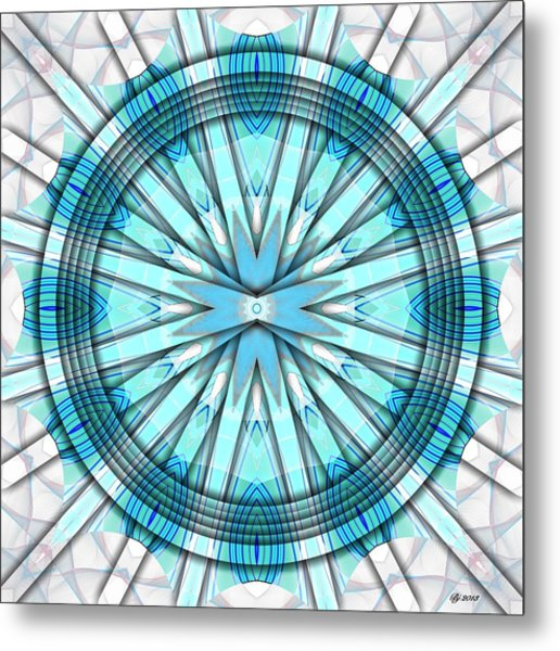 Concentric Eccentric 3 Metal Print by Brian Johnson