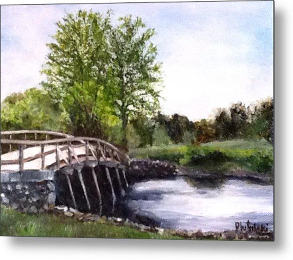 Concord Bridge Metal Print
