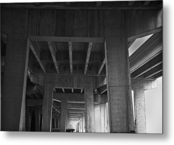 Concrete Cathedral Metal Print by Larry Butterworth