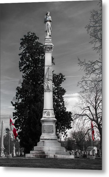 Confederate Monument Metal Print