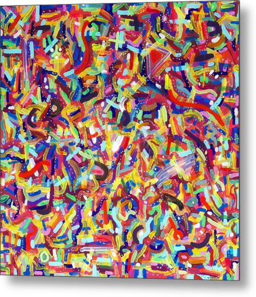 Confetti Metal Print by Patrick OLeary