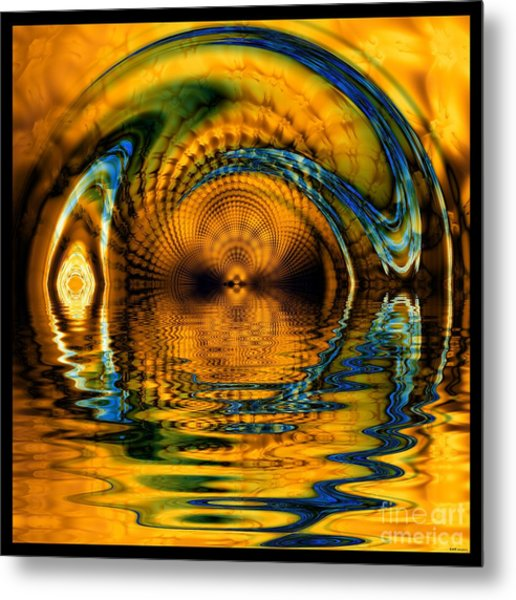 Confusion Of Distortion  Metal Print