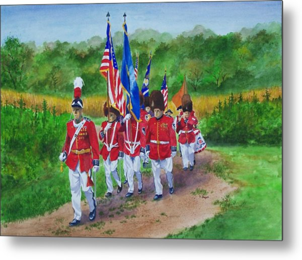 Connecticut Governor's Foot Guard Metal Print