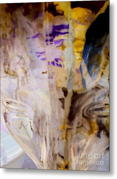 Conscience Illusion Metal Print