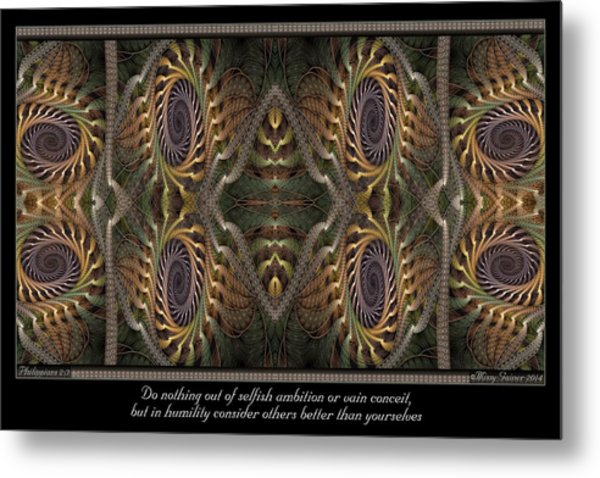 Consider Others Metal Print