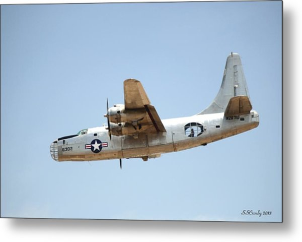 Consolidated Pb4y-2 Privateer  Metal Print
