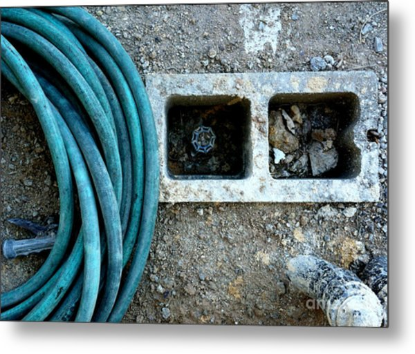 Construction Still Life Metal Print