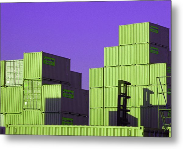 Containers 18 Metal Print
