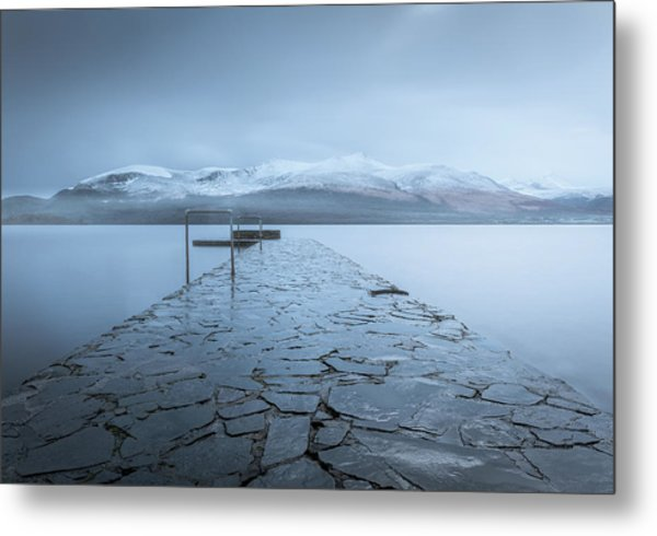 Contemplate Metal Print by David Ahern