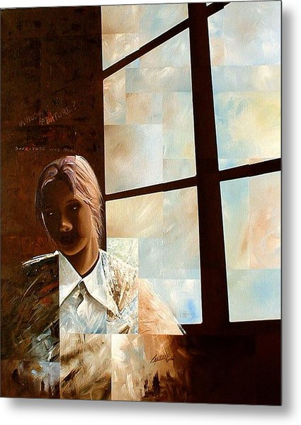 Contemplation Metal Print by Laurend Doumba