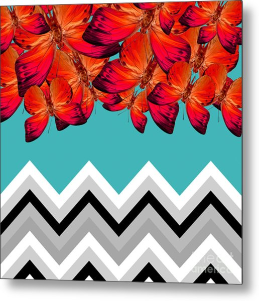 Contemporary Design Metal Print