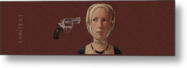 Context Metal Print by Canis Canon