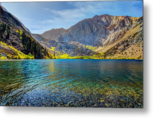 Convict Lake Fall Color Metal Print