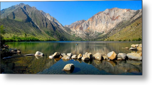 Convict Lake Panorama Metal Print