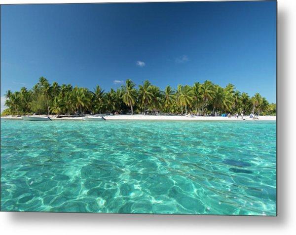 Cook Islands Palmerston Island Metal Print by Cindy Miller Hopkins