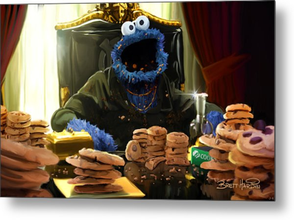 Cookie Montana Metal Print