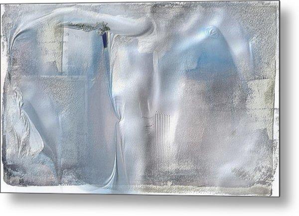 Cool Azure 2 Metal Print