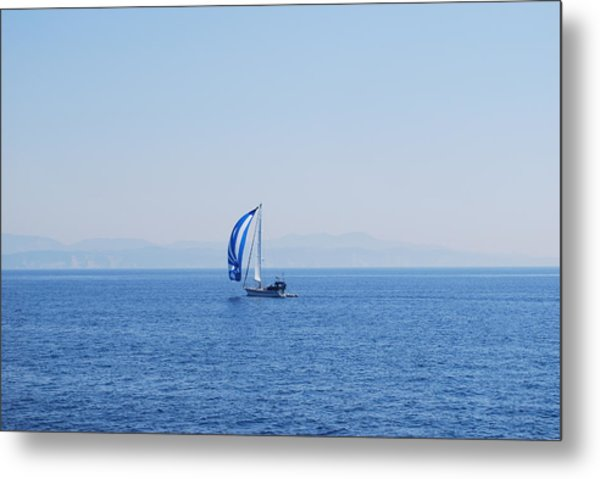 Cool Breeze Metal Print