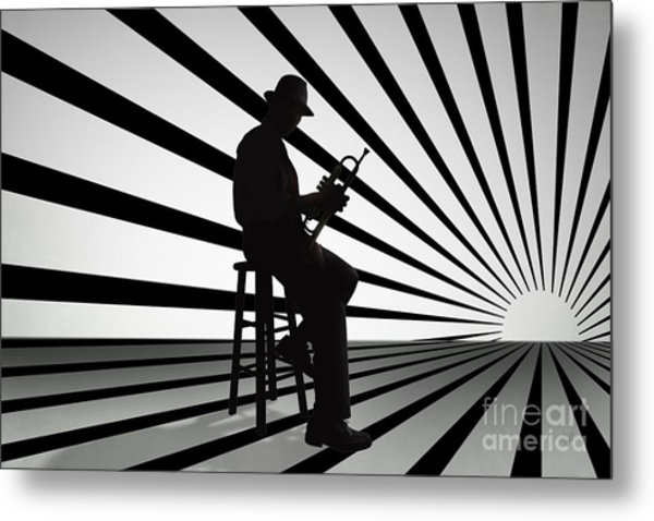 Cool Jazz 2 Metal Print