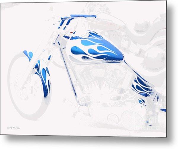 Cool Motorcycle Metal Print