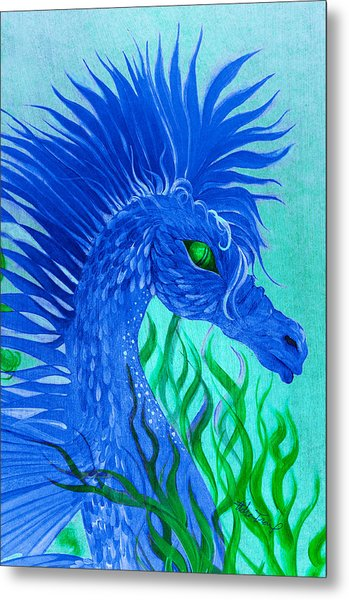 Cool Sea Horse Metal Print