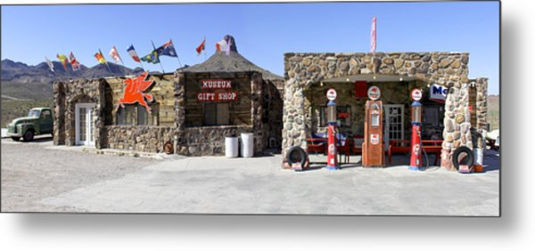 Cool Springs Service Station Metal Print