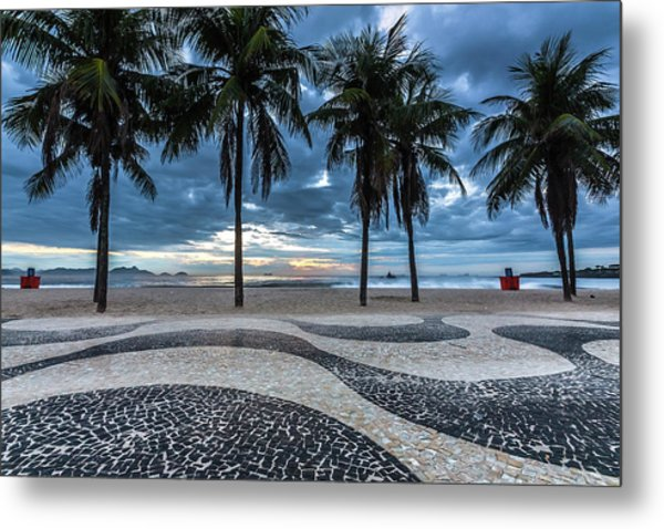 Copacabana Metal Print by Marcelo Freire Photography