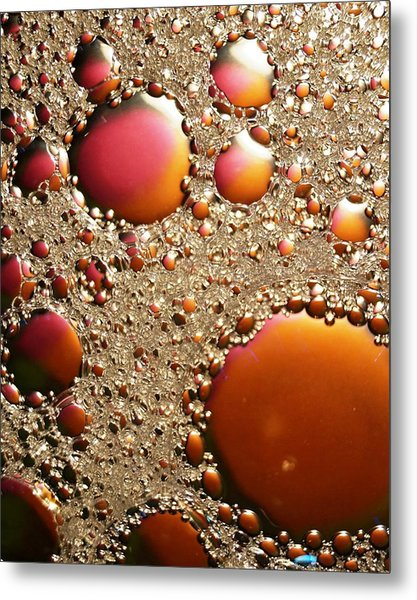 Copper And Tin Metal Print