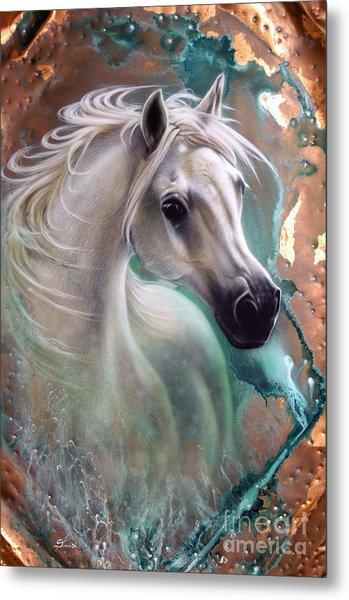 Copper Grace - Horse Metal Print