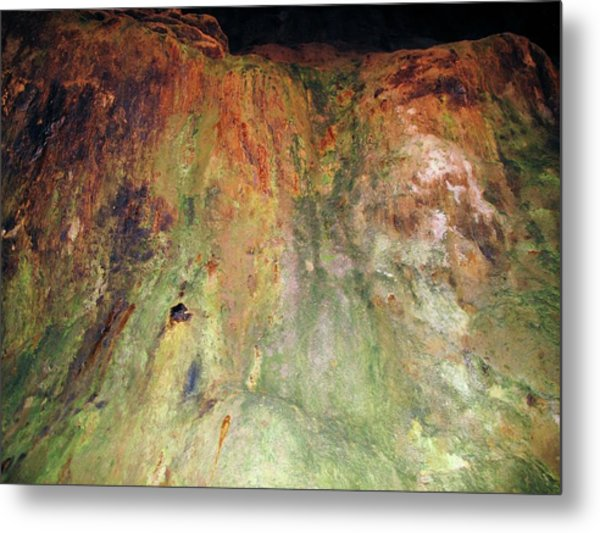 Copper Mine Deposit Metal Print by Cordelia Molloy/science Photo Library
