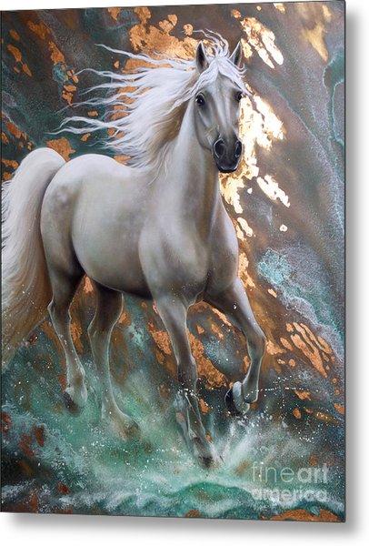 Copper Sundancer - Horse Metal Print