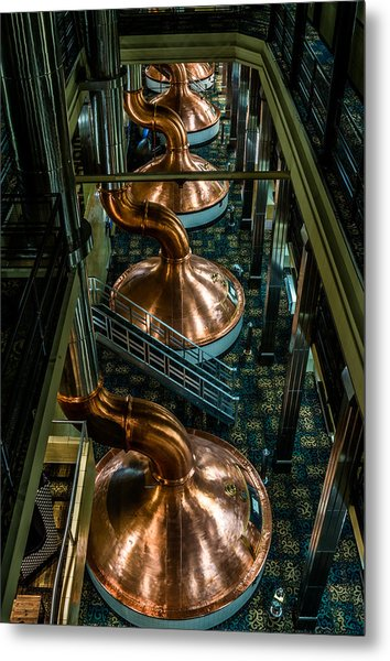 Copper Tops Metal Print