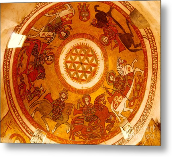 Coptic Martial Saints Metal Print