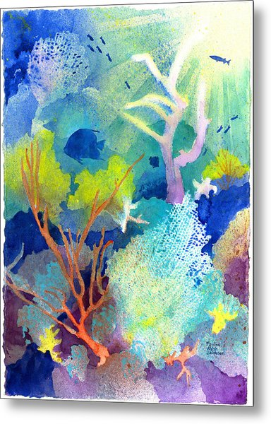 Coral Reef Dreams 1 Metal Print