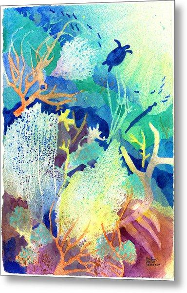 Coral Reef Dreams 2 Metal Print