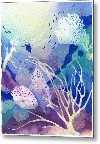 Coral Reef Dreams 4 Metal Print
