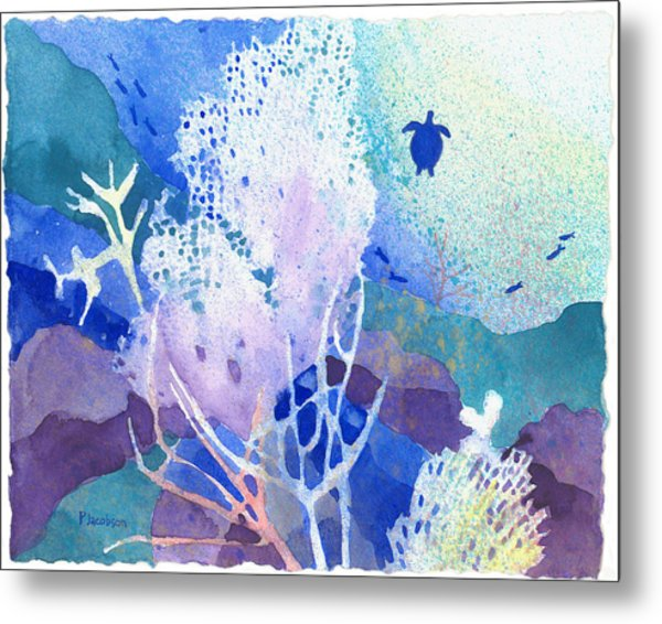 Coral Reef Dreams 5 Metal Print