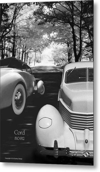 Cord 810/812 Bw Metal Print