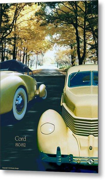 Cord 810-812  Metal Print