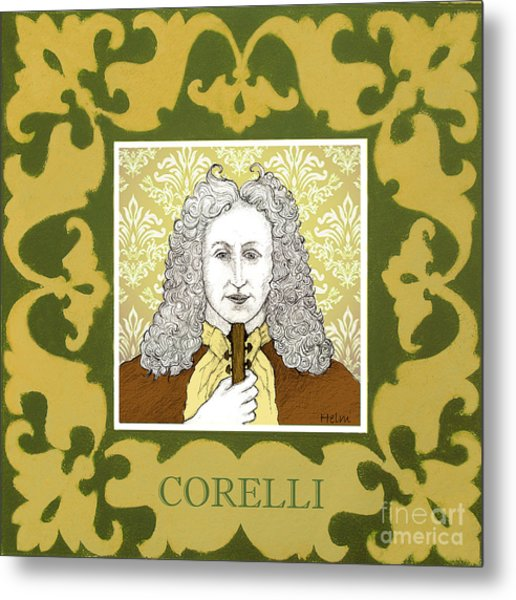 Corelli Metal Print by Paul Helm