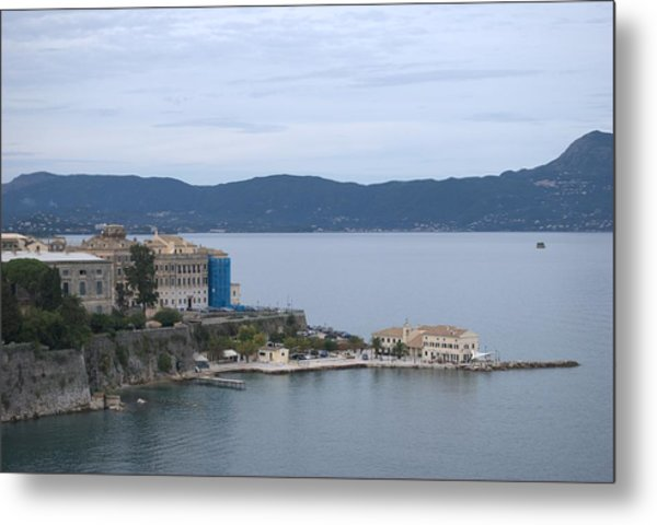 Corfu City 4 Metal Print