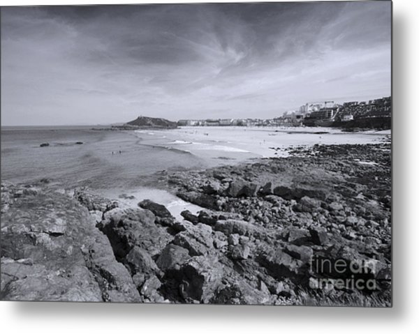 Cornwall Coastline 2 Metal Print