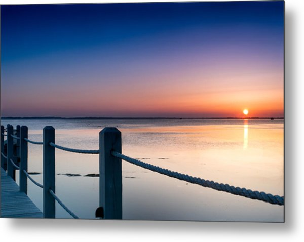 Corolla North Carolina Sunset Metal Print