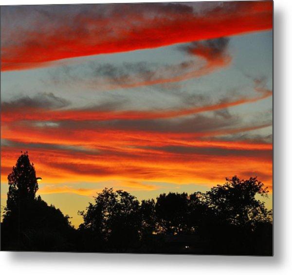 Corona Sunset Metal Print by Jim Robinson