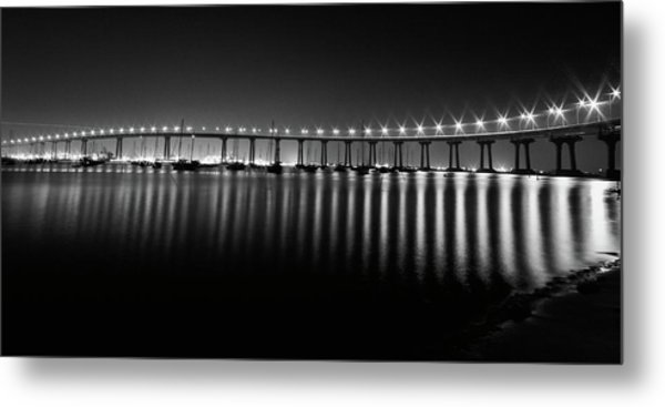 Coronado Bay Bridge Metal Print