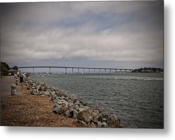 Coronado Bridge Metal Print
