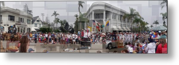 Coronado Fourth Of July Parade Metal Print