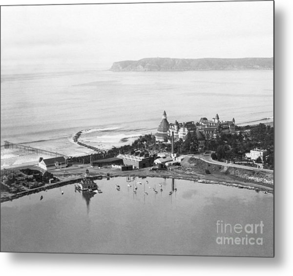 Coronado From Above 1920's Metal Print